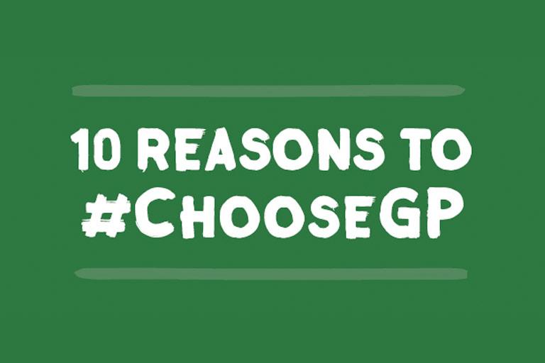 10 Reasons to #chooseGP